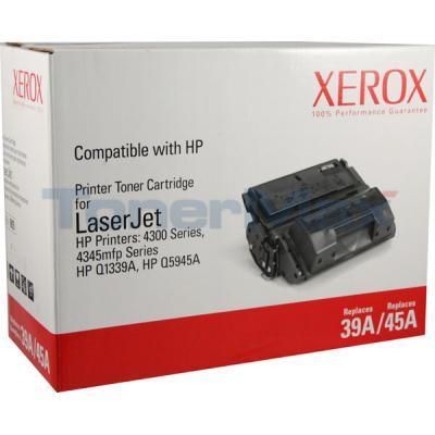 XEROX HP LJ 4300/4345 TONER CTG BLACK Q1339A Q5945A